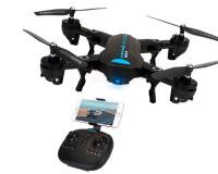 Квадркоптер CTW A6W 300мм складной 720 p HD WiFi камера барометр черно-синий