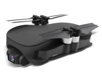 Квадрокоптер JJRC X12 складной с HD-камерой и двойным модулем GPS, полет до 25 минут Черный