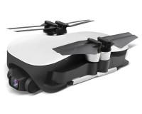 Квадрокоптер JJRC X12 складной с HD-камерой и двойным модулем GPS, полет до 25 минут Белый