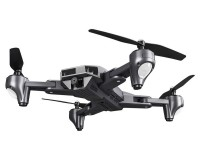 Квадрокоптер Visuo XS816 складной с 4K и HD FPV камерами, оптическим позиционированием Серый