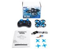 Квадрокоптер JJRC H36 mini с функцией Headless Mode (синий)