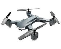 Квадрокоптер Visuo XS816L с 4K и HD FPV камерами, оптическим позиционированием (серый) с 2мя АКБ
