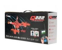 Квадрокоптер WL Toys Q222K Spaceship с барометром и камерой Wi-Fi, красного цвета