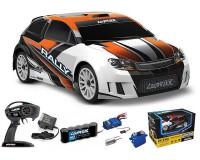Ралли Traxxas LaTrax Rally Racer 1:18 RTR 265 мм 4WD 2,4 ГГц (75054-5 Orange)