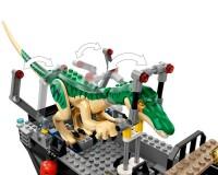 Конструктор Lego Jurassic World Втеча динозавра барионікса на човні, 308 деталей (76942)