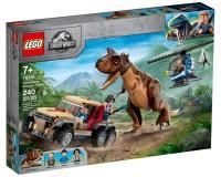 Конструктор Lego Jurassic World Переслідування динозавра карнотавра, 240 деталей (76941)
