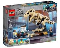 Конструктор Lego Jurassic World Виставковий скелет тиранозавра, 198 деталей (76940)
