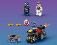 Конструктор Lego Marvel Super Heroes Сутичка Капітана Америки та Гідри, 49 деталей (76189)