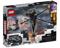 Конструктор Lego Marvel Super Heroes Флаєр-дракон Чорної Пантери, 202 деталі (76186)