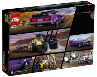 Конструктор Lego Speed Champions Mopar Dodge//SRT Top Fuel Dragster and 1970 Dodge Challenger T/A, 627 деталей (76904)
