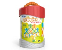 Магнитный конструктор Guidecraft Grippies Stackers, 24 детали (G8314)