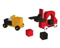 Магнитный конструктор AINSTEIN Классные автомобильчики (2371)