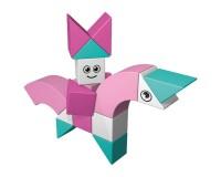 Магнитный конструктор AINSTEIN Принцесса на единороге и волшебные животные (2251)