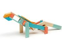 Магнитный конструктор Tegu Базовый разноцветный, 24 элемента
