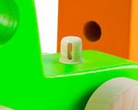 Маленький самосвал Hape, зеленый