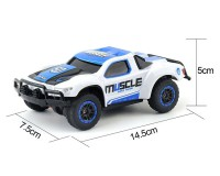 Машинка HB Toys Muscle 1:43 4WD, 2.4 ГГц (синяя)