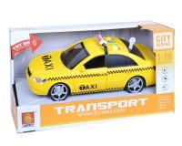 Машина Wenyi такси 1:16 (жёлтая)