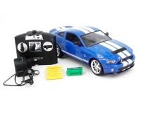 Машинка Meizhi Ford GT500 Mustang 1:14 лиценз. (синий)