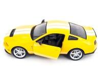 Машинка Meizhi Ford GT500 Mustang 1:14 лиценз. (желтая)
