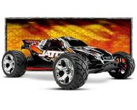 Автомобиль Traxxas Jato 3,3 Nitro Stadium Truck 1:10 RTR 420 мм 2WD 2,4 ГГц (55077-3 Orange)