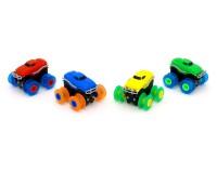 Машинка на бат. Trix Trux набор с трассой (зеленая)