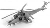Сборная модель Звезда советский ударный вертолёт Ми-24В/ВП «Крокодил» 1:72