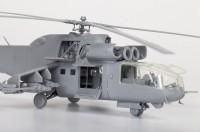 Сборная модель Звезда советский ударный вертолёт «Ми-24А» 1:72