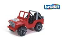 Автомодель Bruder мини-джип 1:16 (красный)