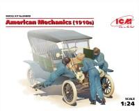 Сборные фигурки ICM Американские механики, 1910-е гг. 1:24 (ICM24009)
