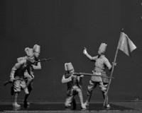 Сборные фигурки ICM Эритрейский батальон итальянской колониальной армии, 1939-1940 гг. 1:35 (ICM35567)