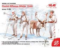 Сборные фигурки ICM Финские стрелки, зима 1940 г. 1:35 (ICM35566)