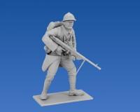 Сборные фигурки ICM Французская пехота, 1916 г. 1:35 (ICM35691)