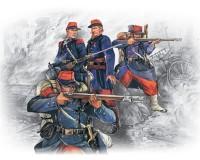 Сборные фигурки ICM Французская пехота, франко-прусская война 1870-1871 гг. 1:35 (ICM35061)