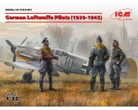 Сборные фигурки ICM Пилоты Люфтваффе, 1939-1945 гг. 1:32 (ICM32101)