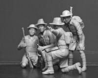 Сборные фигурки ICM Гуркхские стрелки, 1942-1944 гг. 1:35 (ICM35563)