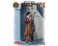 Сборная модель ICM фигурки швейцарского гвардейца стражи Ватикана 1:16 (ICM16002)