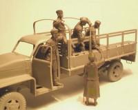 Сборные фигурки ICM Советская моторизированная пехота, 1943-1945 гг. 1:35 (ICM35635)