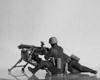 Сборные фигурки ICM Немецкий пулуметный расчет MG08, IIМВ 1:35 (ICM35645)