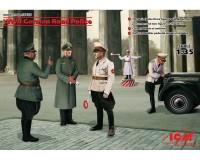 Сборные фигурки ICM Немецкая дорожная полиция, IIМВ 1:35 (ICM35633)