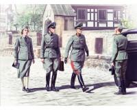 Сборные фигурки ICM Немецкие штабисты, IIМВ 1:35 (ICM35611)