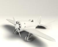 Сборная модель ICM Истребитель И-16 тип 10, IIМВ 1:32 (ICM32004)