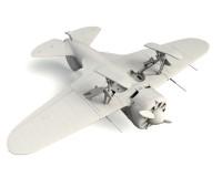 Сборная модель ICM Истребитель И-16 тип 17, IIМВ 1:32 (ICM32005)