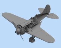 Сборная модель ICM Истребитель И-16 тип 24, IIМВ 1:32 (ICM32001)