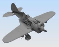 Сборная модель ICM Истребитель И-16 тип 29, IIМВ 1:32 (ICM32003)