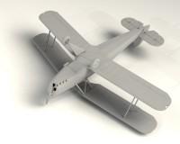 Сборная модель ICM Японский учебный самолет Ki-86a/K9W1 Cypress, IIМВ 1:32 (ICM32032)