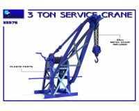 Сборная модель MiniArt 3-х тонный сервисный кран 1:35 (MA35576)
