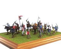 Сборная модель MiniArt штурма средневековой крепости, XII-V вв. 1:72 (MA72033)