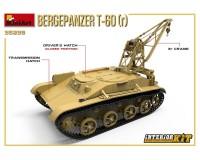 Сборная модель MiniArt Бронированная ремонтно-эвакуационная машина T-60 (r) с интерьером 1:35 (MA35238)