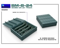 Сборная модель MiniArt БМ-8-24 на базе 1,5-тонного грузовика 1:35 (MA35259)