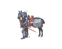 Сборная модель MiniArt фигурок бургундских конных рыцарей, XV век 1:72 (MA72006)